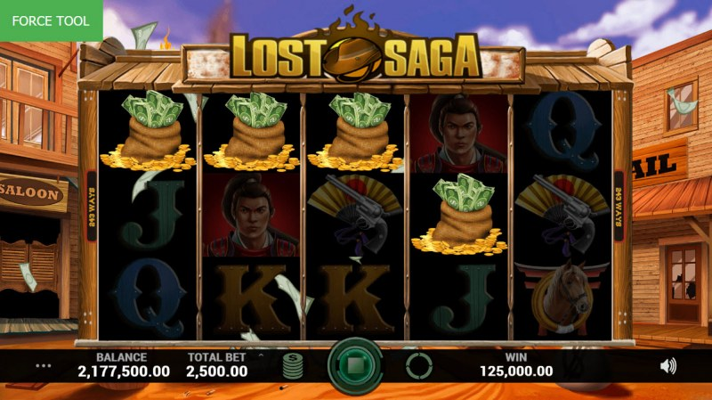 Lost Saga :: Scatter symbols triggers the free spins feature