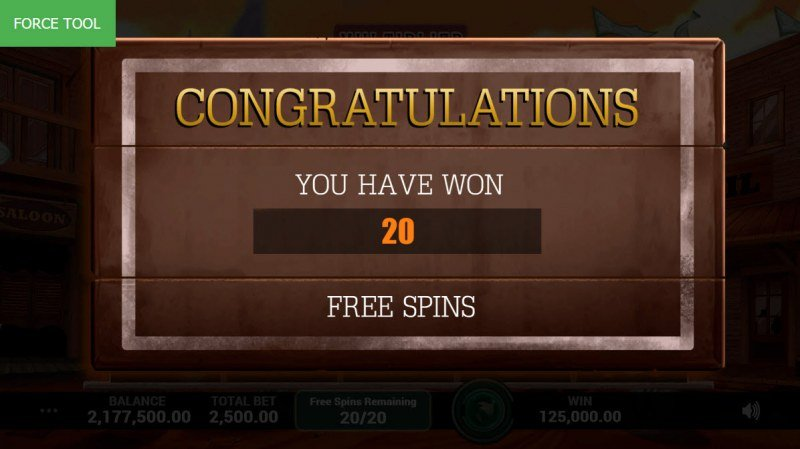 Lost Saga :: 20 Free Spins Awarded