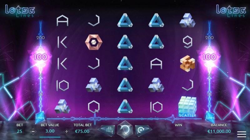 Lotsa Lines :: Main Game Board