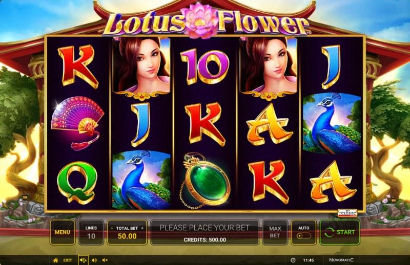 Lotus Flower :: Main Game Board