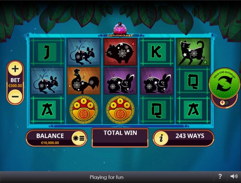 Lotus Heart :: Main Game Board