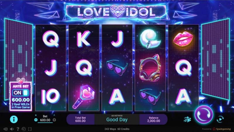 Love Idol :: Base Game Screen