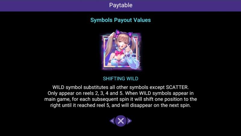 Love Idol :: Wild Symbol Rules