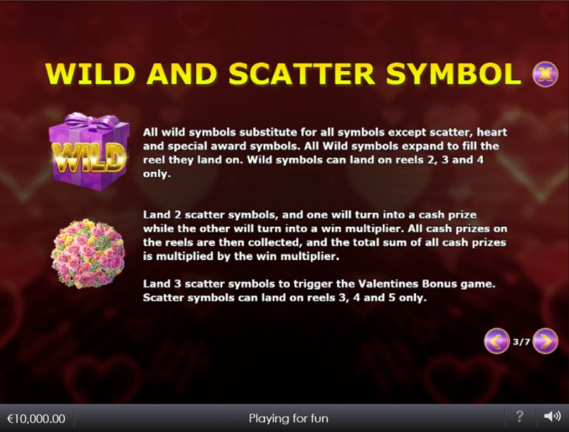 Lovefool :: Wild and Scatter Rules