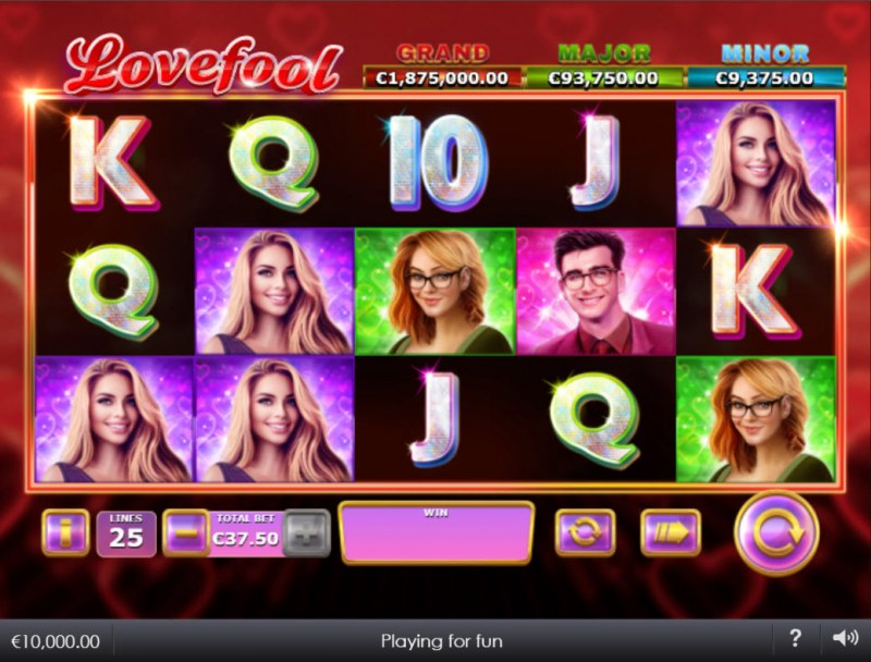 Lovefool :: Main Game Board