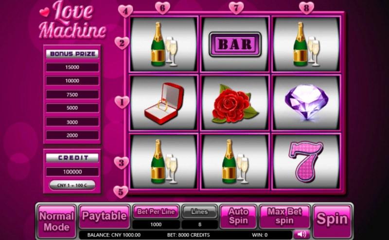 Lover Machine :: Main Game Board