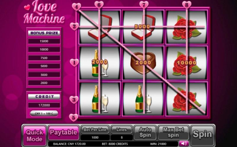 Lover Machine :: Big Win