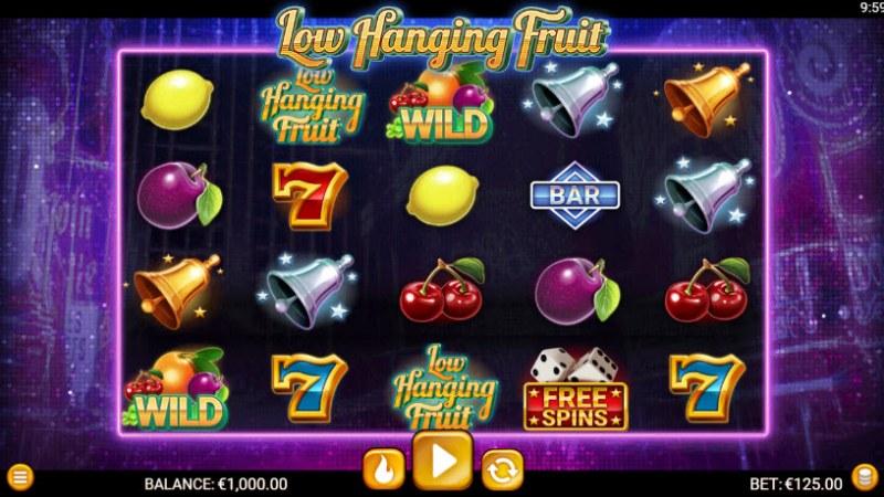Low Hanging Fruit :: Main Game Board