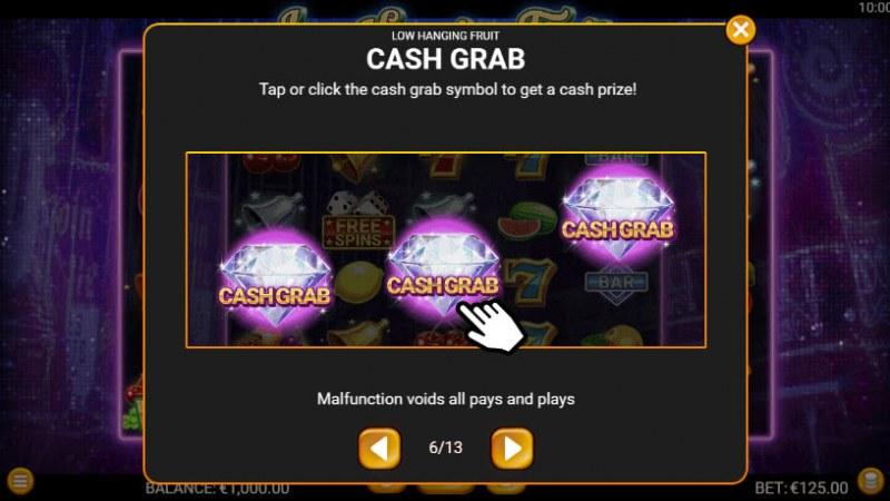 Low Hanging Fruit :: Cash Grab
