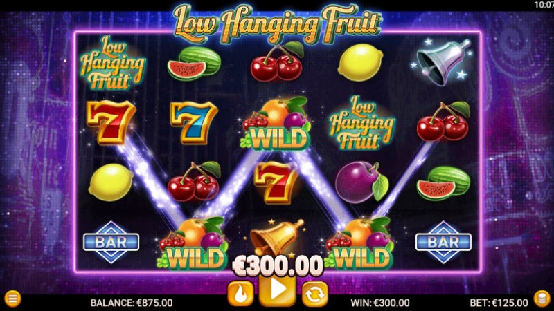 Low Hanging Fruit :: Four of a kind