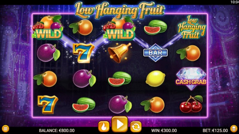 Low Hanging Fruit :: Three of a kind win