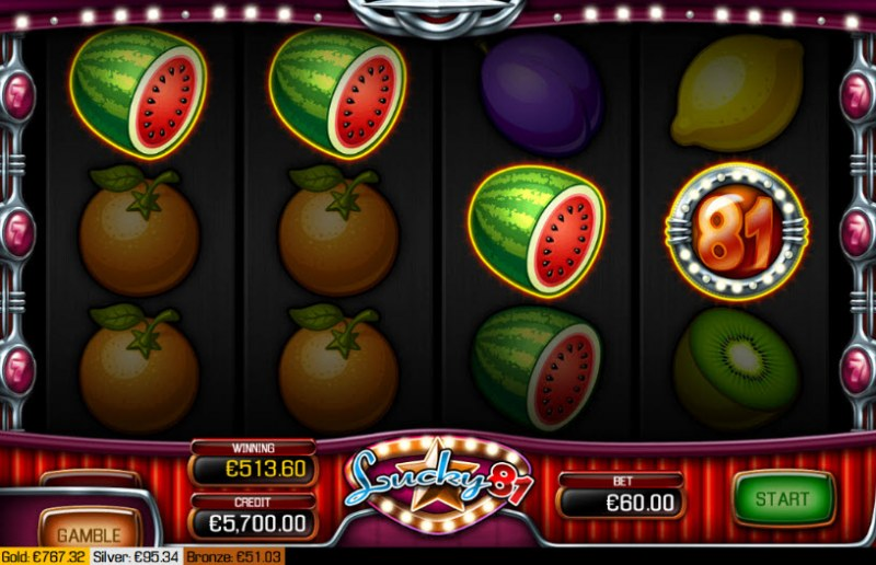 Lucky 81 :: Four of a kind