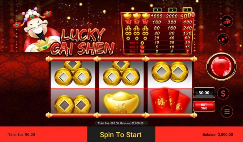 Lucky Cai Shen :: Main Game Board