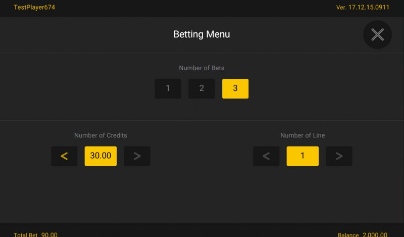 Lucky Cai Shen :: Available Betting Options