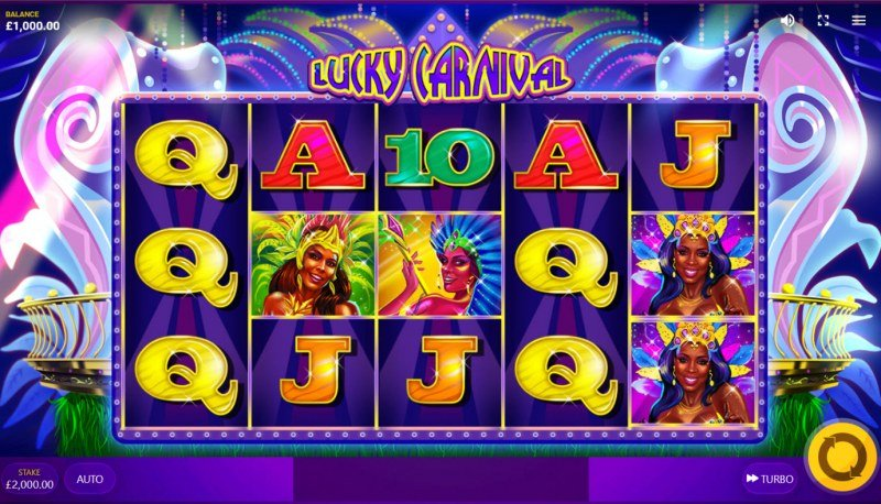 Lucky Carnival :: Base Game Screen