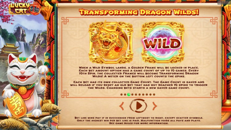 Lucky Cat :: Transforming Dragon Wilds