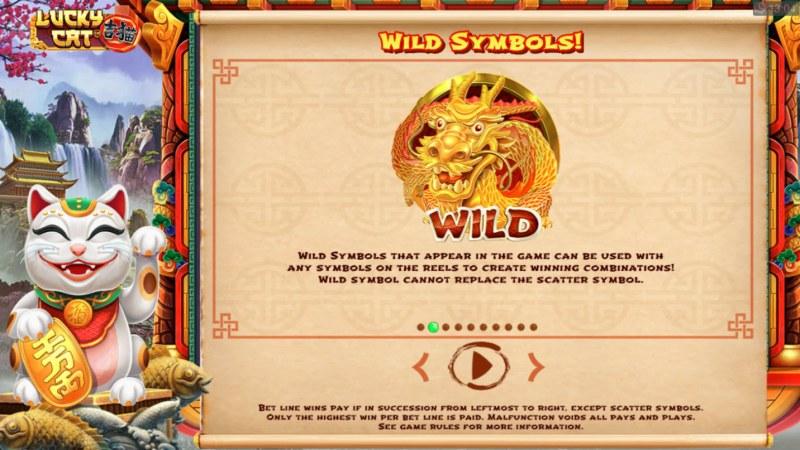 Lucky Cat :: Wild Symbol Rules