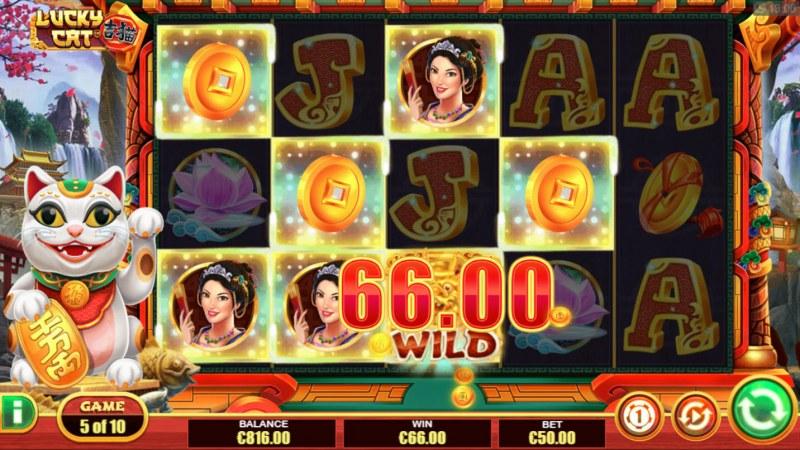 Lucky Cat :: Multiple winning paylines