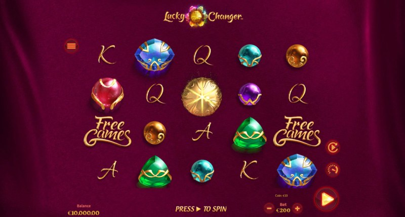 Lucky Changer :: Main Game Board