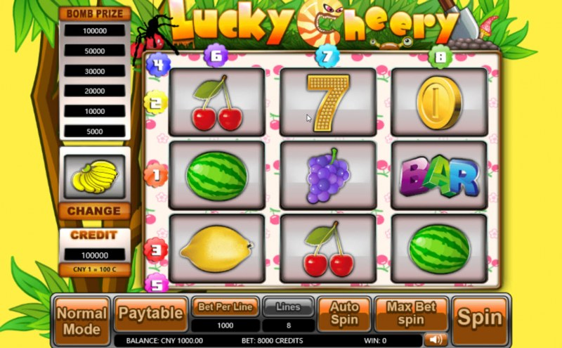 Lucky Cheery :: Main Game Board