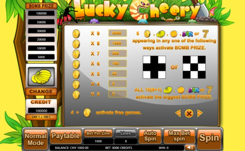 Lucky Cheery :: Feature Rules