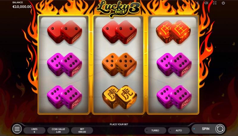 Lucky Dice 3 :: Base Game Screen