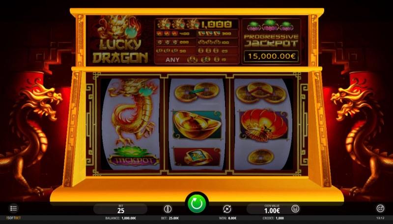 Lucky Dragon :: Main Game Board