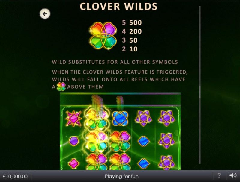 Lucky Emeralds :: Clover Wilds
