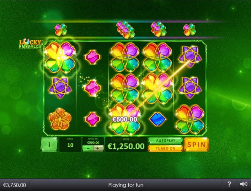 Lucky Emeralds :: Multiple winning paylines