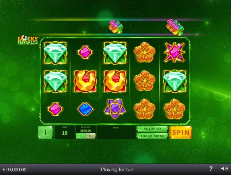 Lucky Emeralds :: Main Game Board