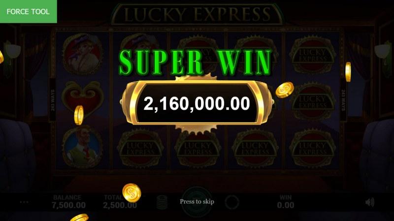 Lucky Express :: Super Win