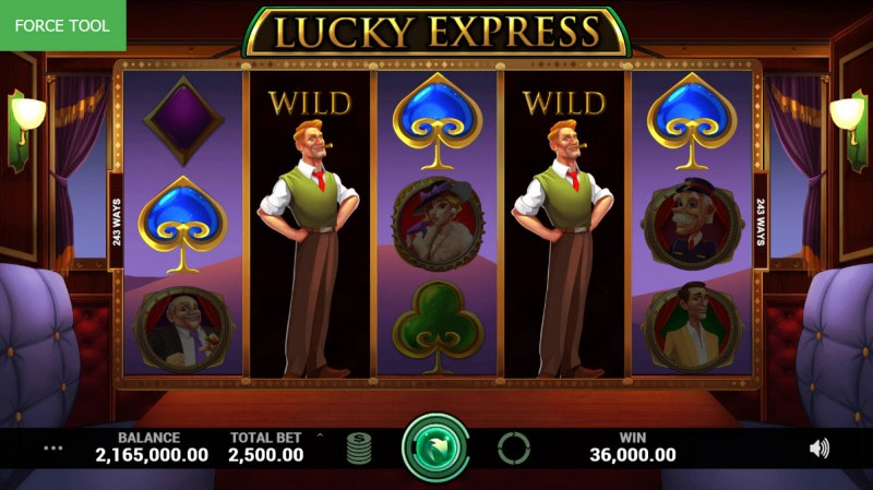 Lucky Express :: Five of a kind