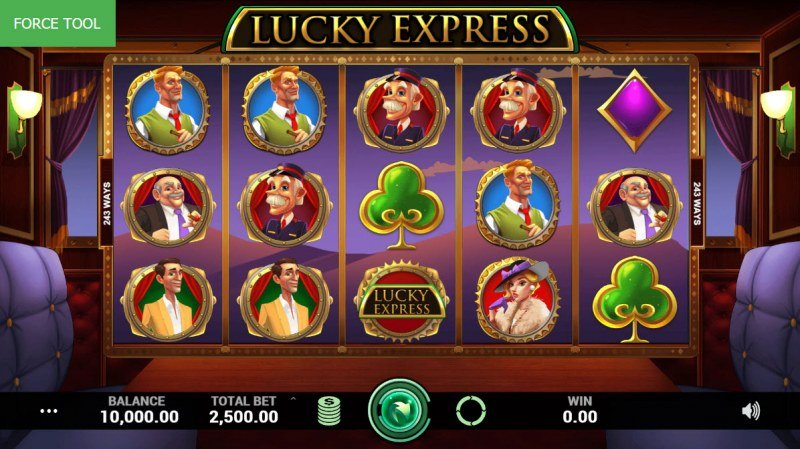 Lucky Express :: Main Game Board