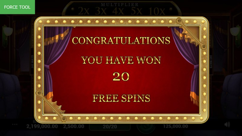 Lucky Express :: 20 Free Spins Awarded