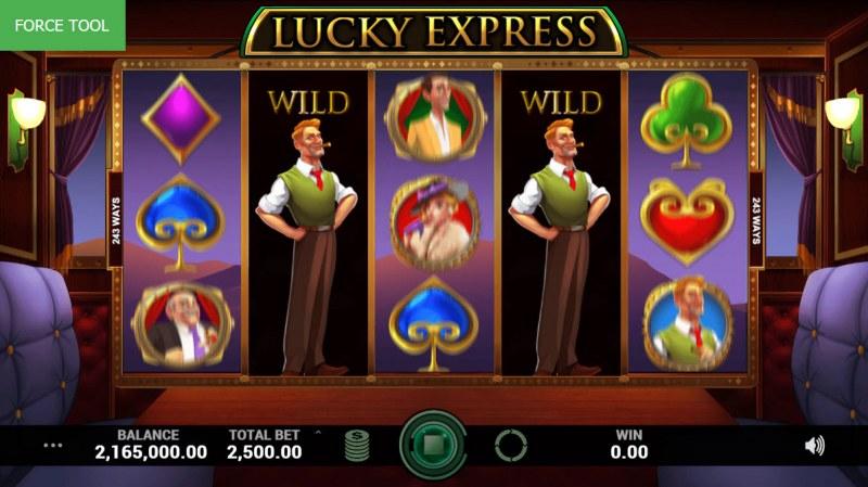 Lucky Express :: Wild Event Triggered