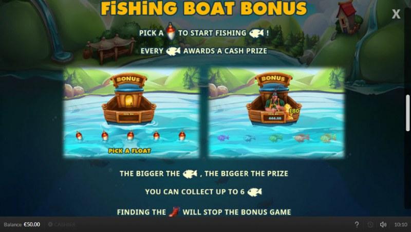 Lucky Fisherman :: Fishing Boat Bonus