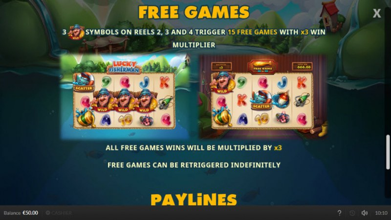 Lucky Fisherman :: Free Games