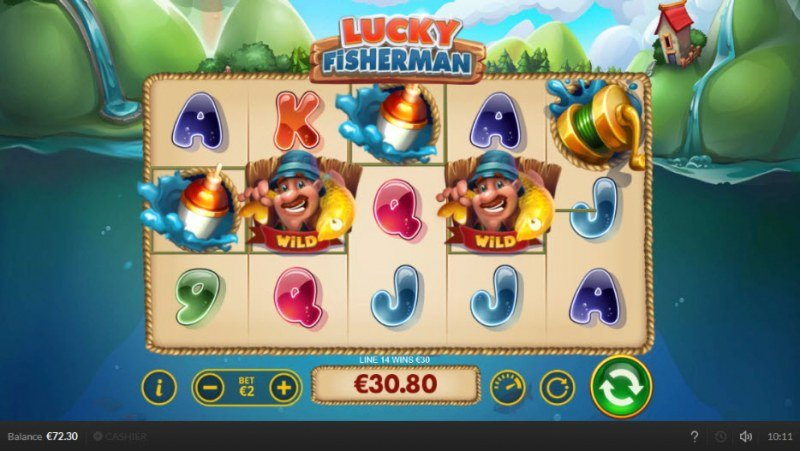 Lucky Fisherman :: Four of a kind Win