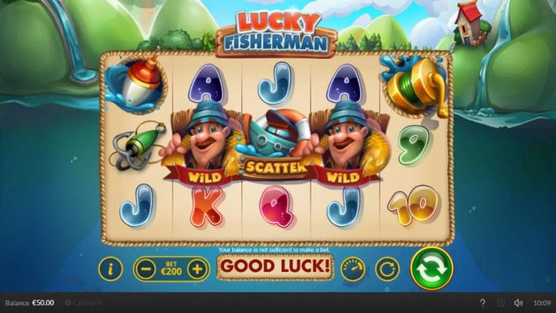 Lucky Fisherman :: Main Game Board