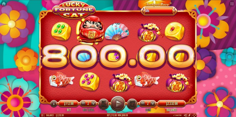 Lucky Fortune Cat :: Multiple winning combinations