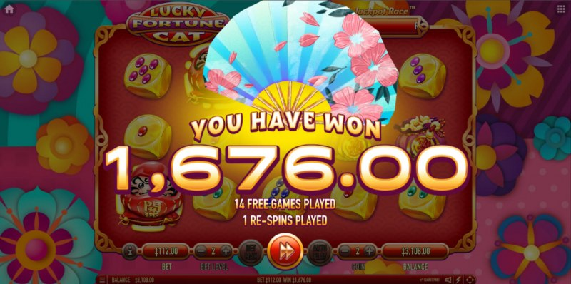 Lucky Fortune Cat :: Total Free Spins Payout