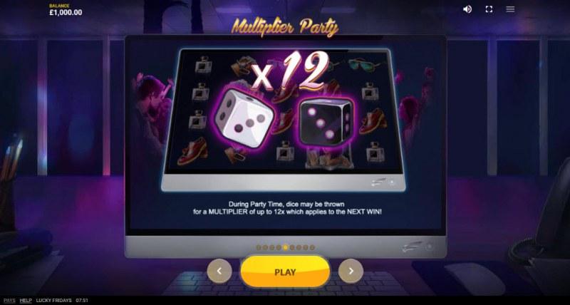 Lucky Fridays :: Multiplier