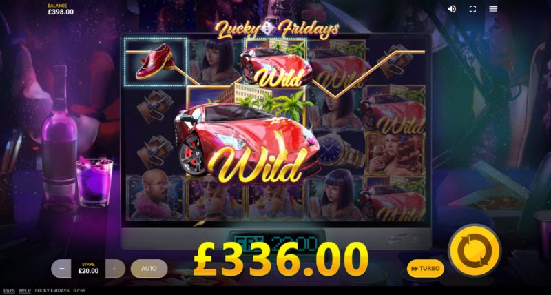Lucky Fridays :: Multiple winning paylines
