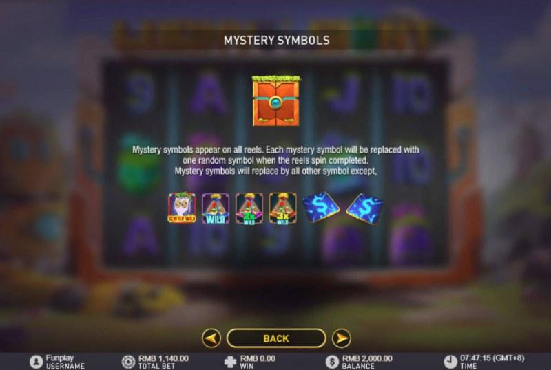 Lucky Giant :: Mystery Symbols