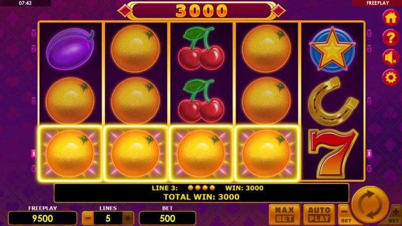 Lucky Joker 5 :: Four of a kind Win