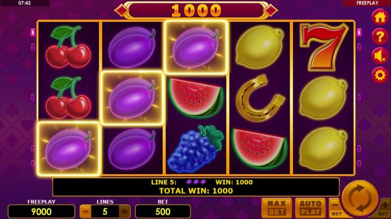 Lucky Joker 5 :: Three of a kind