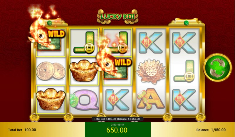 Lucky Koi :: Multiple winning combinations