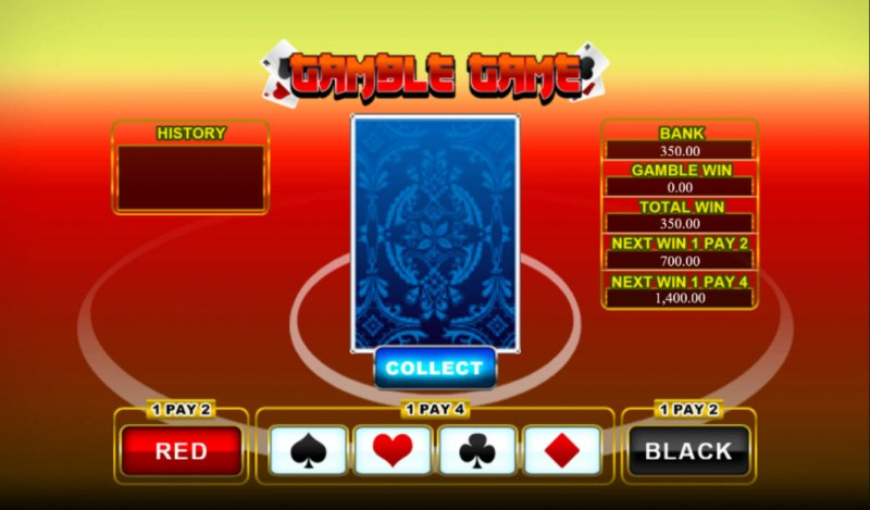 Lucky Koi :: Gamble Feature Game Board