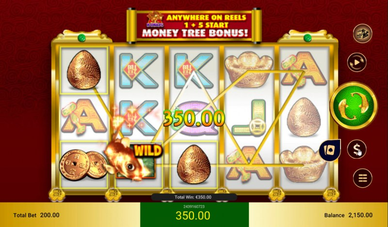 Lucky Koi :: Multiple winning paylines