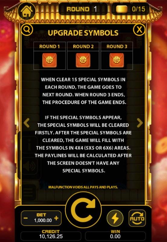 Lucky Koin :: Symbol Upgrade